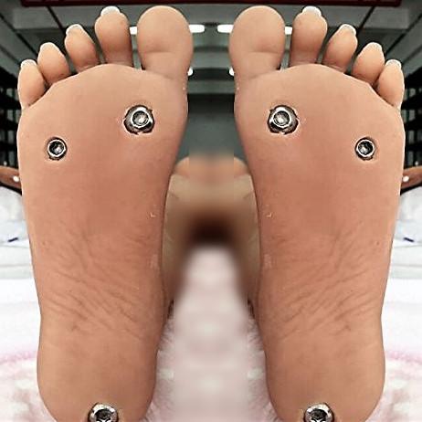 piedi imbullonati